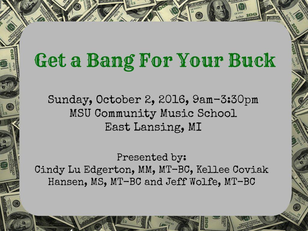 Bang for Buck fall