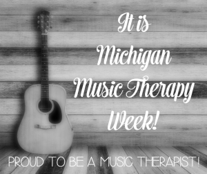 Michigan Music Therapy Week